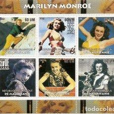 Sellos: HOJA BLOQUE DE MARILYN MONROE BENIN . Lote 146295986