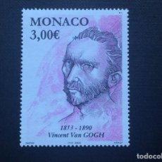 Francobolli: MONACO Nº YVERT 2404*** AÑO 2003. PINTURA. VAN GOGH. Lote 154209582