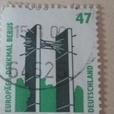 Sellos: SELLOS ALEMANIA, R. FEDERAL MTDO/1997/SERIE BASICA. TURISMO. MONUMENTO A EUROPA/ARQUITECTURA/. Lote 155789661