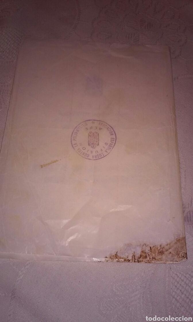 Sellos: A.L.P.E. ASOC. ESPAÑOLA LUCHA POLIOMILITIS (colección sellos de arte famosos SERIE C) - Foto 5 - 156643702