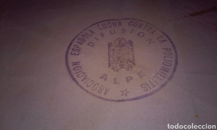 Sellos: A.L.P.E. ASOC. ESPAÑOLA LUCHA POLIOMILITIS (colección sellos de arte famosos SERIE C) - Foto 6 - 156643702