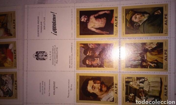 Sellos: A.L.P.E. ASOC. ESPAÑOLA LUCHA POLIOMILITIS (colección sellos de arte famosos SERIE C) - Foto 15 - 156643702