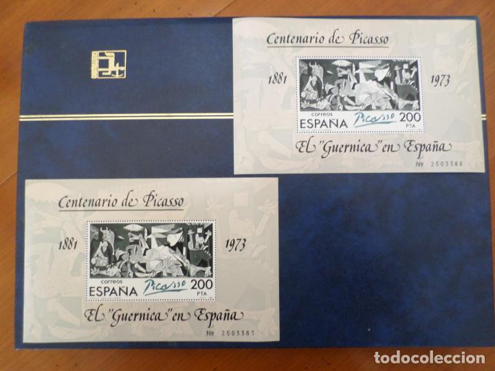 SELLOS CENTENARIO PICASSO 1881- 1973 (Sellos - Temáticas - Arte)