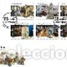 Sellos: PORTUGAL & FDC MUSEOS CENTENARIOS DE PORTUGAL 2019 (6839). Lote 160641550