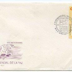 Sellos: PABLO PICASSO, MATASELLOS CONMEMORATIVO CENTENARIO DEL NACIMIENTO 1981 CUBA, JOLIOT CURIE. Lote 191701053