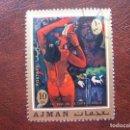 Sellos: ARABIA SUDESTE,AJMAN, OBRA DE GAUGUIN . Lote 168329380