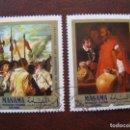 Sellos: ARABIA SUDESTE, MANAMA, OBRAS DE VELAZQUEZ. Lote 168331020