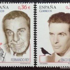 Sellos: 2012. ARTE. ESPAÑA. 4720 / 4722. CINE. ACTORES FERNANDO REY Y FRANCISCO RABAL. SERIE CORTA. NUEVO.. Lote 169583236