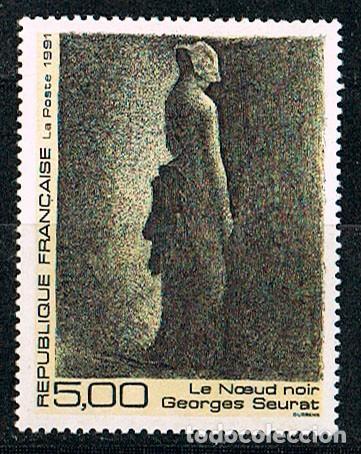 FRANCIA Nº 2693, GEORGES SEURAT, EL LAZO NEGRO, NUEVO *** (Sellos - Temáticas - Arte)