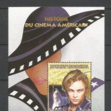 Sellos: SELLOS MADAGASCAR AÑO 1999. HISTORIA DEL CINE AMERICANO. -LEONARDO DI CAPRIO- HOJA BLOQUE NUEVA. Lote 172585817