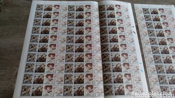 Sellos: 2 Pliegos de 90 sellos Serie Centenarios + tira de 40 Juan de Juni y Pablo Rubens - Foto 5 - 174310452
