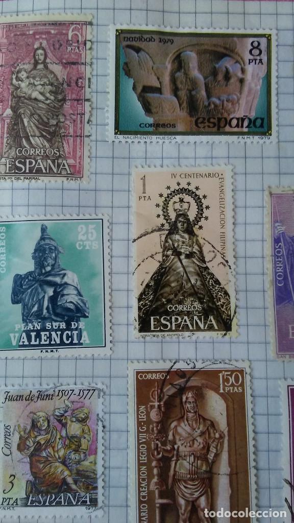 Sellos: 24 SELLOS DE ESCULTURA - Foto 2 - 176610403