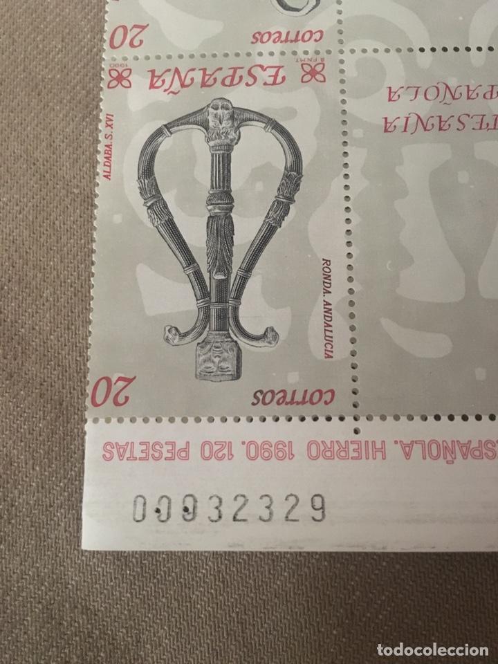 Sellos: 12 sellos 20 pts ARTESANÍA HIERRO ESPAÑOLA - Foto 4 - 176916184