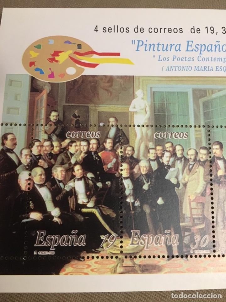 Sellos: SELLOS Los poetas contemporáneos DE ESPAÑA - Foto 3 - 177076958