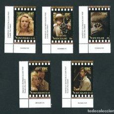 Sellos: SELLOS NUEVA ZELANDA 2005 KONG CINE. Lote 178620568
