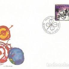 Sellos: LIECHTENSTEIN IVERT 1025, CUADRO DE JEAN TIGUELY, PRIMER DIA 6-6-1994 VALOR CATALOGO SELLO USADO 7,5. Lote 182408137