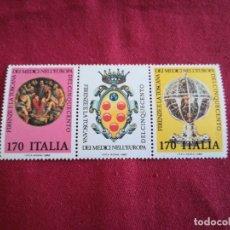 Sellos: SELLOS ITALIA ARTE 1980 CON GOMA. Lote 183068991