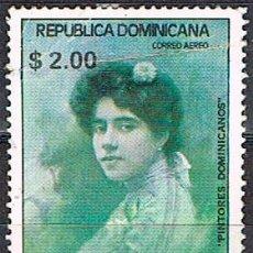 Sellos: DOMINICANA Nº 1376, PINTURA DOMINICANA, ABELARDO RODRÍGUEZ URDANETA, USADO. Lote 191911820
