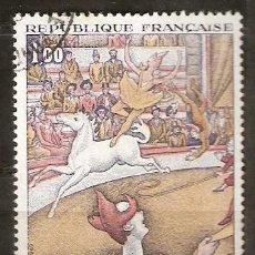 Sellos: FRANCIA.1969 YT 1588A.PINTURA. ARTE. Lote 191999546