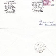 Sellos: AÑO 1999, PALENCIA, EXPOSICION DE ARTE ESPAÑOL, SOBRE CIRCULADO. Lote 192163396