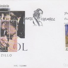 Sellos: EDIFIL 3715, ARTE ESPAÑOL: SALZILLO, PRIMER DIA DE 9-6-2000 SFC. Lote 192358711