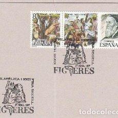 Sellos: AÑO 1997, DALI, MATASELLO DE FIGUERAS. Lote 192358968