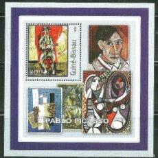 Sellos: GUINEA BISSAU 2001 HB *** ARTE - PINTURA - PABLO PICASSO. Lote 192461188