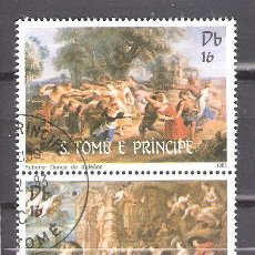 Sellos: SANTO TOMÉ Y PRÍNCIPE Nº 728/729º HOMENAJE A RUBENS. SERIE COMPLETA. Lote 194630943