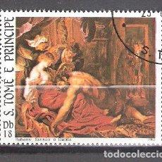 Sellos: SANTO TOMÉ Y PRÍNCIPE Nº 730º HOMENAJE A RUBENS. COMPLETA . Lote 194631357