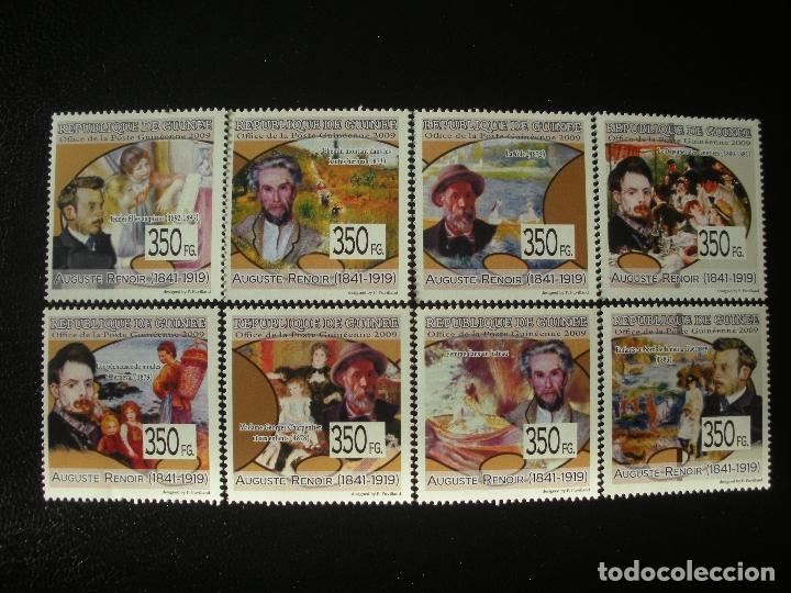 R.GUINEA 2009 IVERT 4290/97 *** PINTURA - AUGUSTE RENOIR - ARTE (Sellos - Temáticas - Arte)