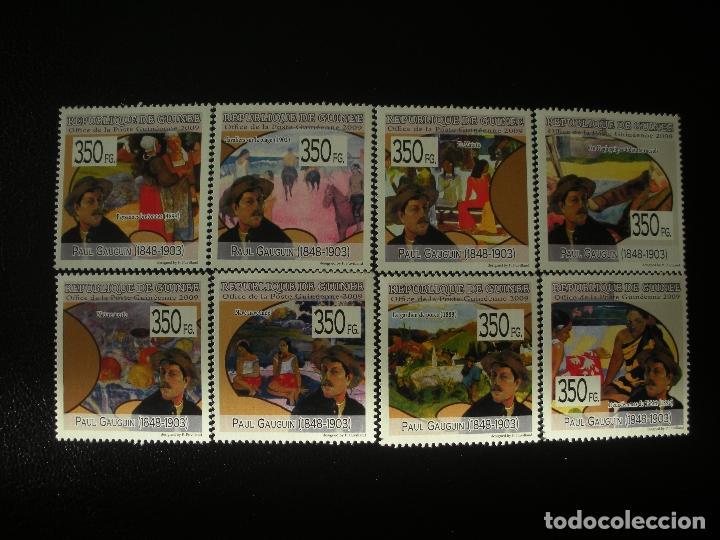 R.GUINEA 2009 IVERT 4442/49 *** PINTURA - PAUL GAUGUIN - ARTE (Sellos - Temáticas - Arte)