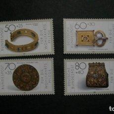 Sellos: /01.04/-ALEMANIA FEDERAL-1987-Y&T 1171/4 SERIE COMPLETA EN NUEVO SIN FIJASELLOS(**MNH). Lote 198945810