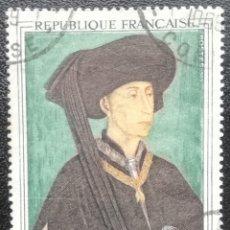 Sellos: 1969. FRANCIA. 1587. CUADRO 'PHILIPE LE BON, DUQUE DE BORGOÑA'. USADO.. Lote 201350713