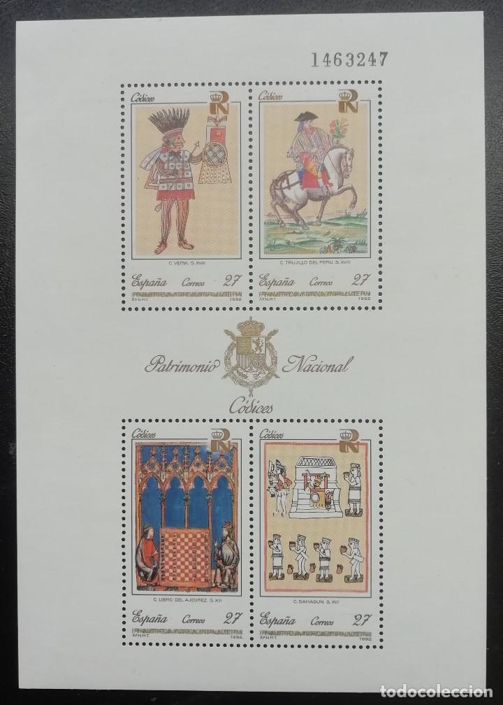 1992. ESPAÑA. HB 3236. PATRIMONIO ARTÍSTICO NACIONAL. NUEVO. (Sellos - Temáticas - Arte)