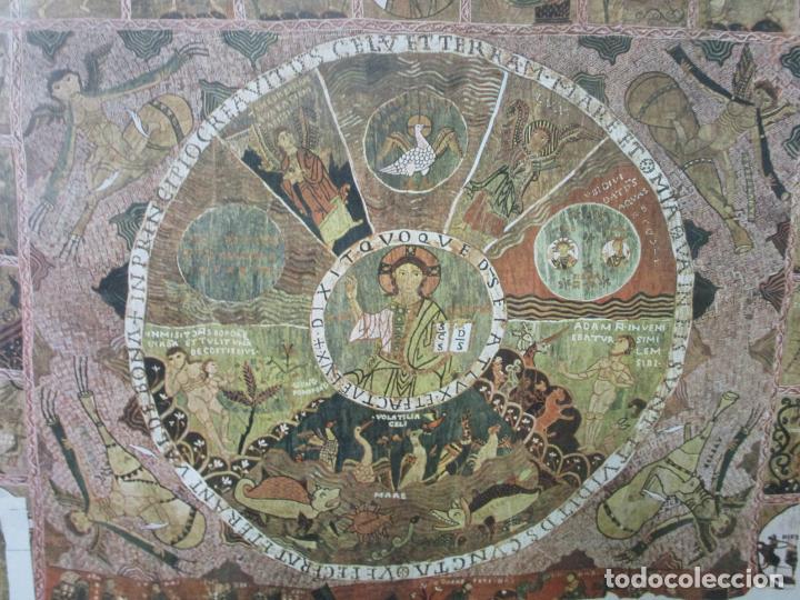 Sellos: Sello Tapiz de la Creación Gerona - Catedral de Girona - Sello Exp. Filª. Barnafil, 25 Octubre 1980 - Foto 4 - 204053663