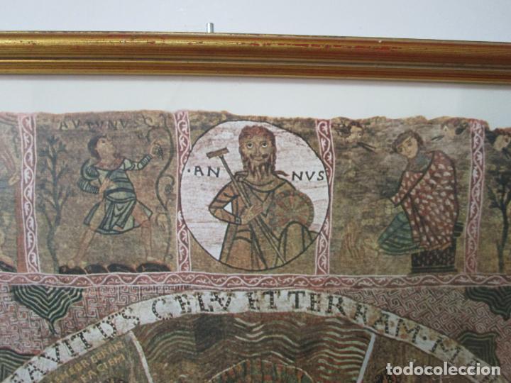 Sellos: Sello Tapiz de la Creación Gerona - Catedral de Girona - Sello Exp. Filª. Barnafil, 25 Octubre 1980 - Foto 6 - 204053663