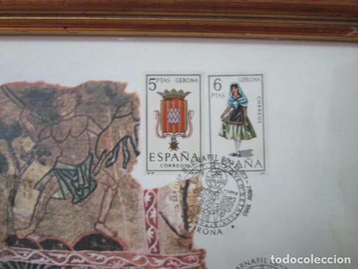 Sellos: Sello Tapiz de la Creación Gerona - Catedral de Girona - Sello Exp. Filª. Barnafil, 25 Octubre 1980 - Foto 8 - 204053663