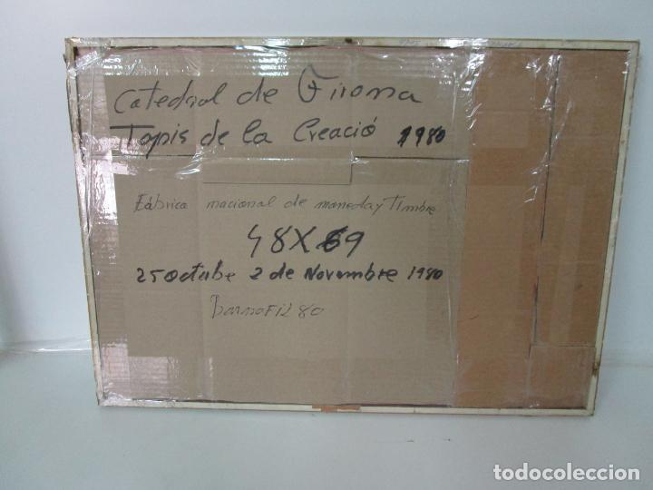 Sellos: Sello Tapiz de la Creación Gerona - Catedral de Girona - Sello Exp. Filª. Barnafil, 25 Octubre 1980 - Foto 11 - 204053663