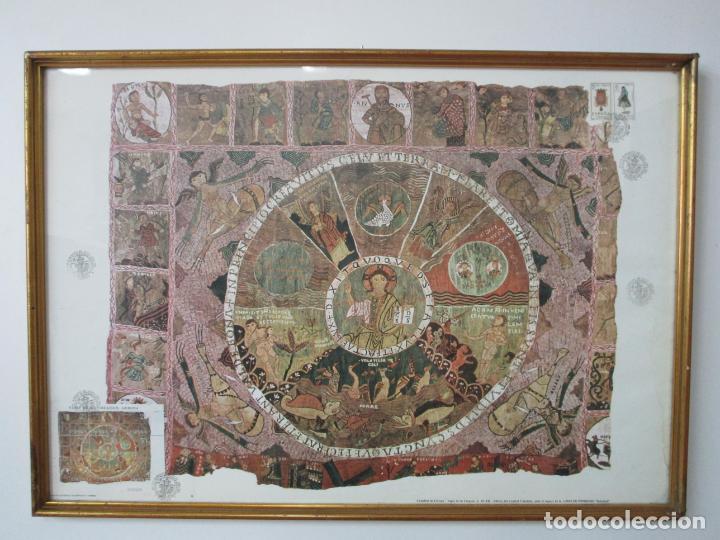 Sellos: Sello Tapiz de la Creación Gerona - Catedral de Girona - Sello Exp. Filª. Barnafil, 25 Octubre 1980 - Foto 12 - 204053663