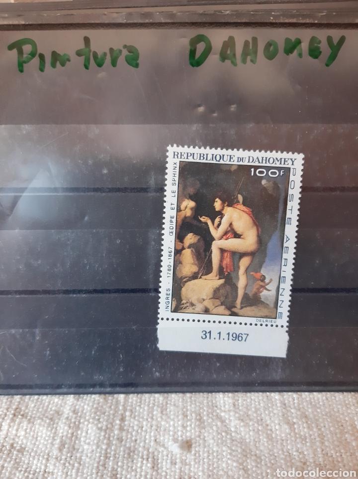 PINTURA SERIE COMPLETA NUEVA DAHOMEY REPÚBLICA 1967 (Sellos - Temáticas - Arte)