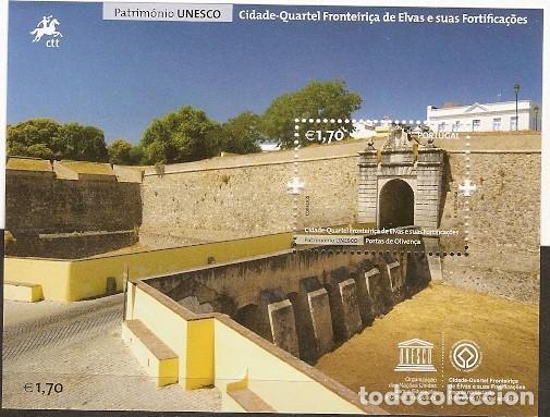 PORTUGAL ** & PATRIMONIO UNESCO, CUARTELES FRONTEIRIÇA DE ELVAS Y SUS FORTIFICACIONES 2014 (7992 ) (Sellos - Temáticas - Arte)