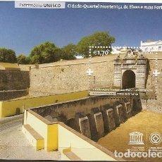 Sellos: PORTUGAL ** & PATRIMONIO UNESCO, CUARTELES FRONTEIRIÇA DE ELVAS Y SUS FORTIFICACIONES 2014 (7992 ). Lote 207276330