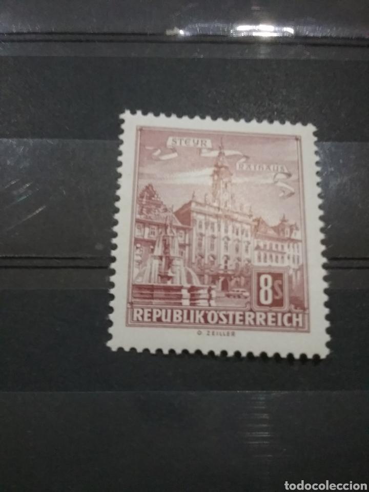 SELLOS AUSTRIA (OSTERREICH) NUVOS/1965/ARTE/ARQUITECTURA/MONUMENTOS/CATEDRAL/PALACIO/IGLESIA/CIUDAD (Sellos - Temáticas - Arte)