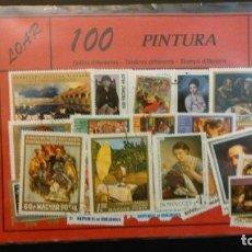 Sellos: 100 SELLOS DE PINTURA. Lote 209067573