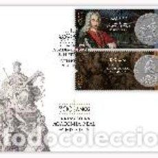 Sellos: PORTUGAL & FDC 300 AÑOS DE LA FUNDACIÓN DE LA ACADEMIA REAL HISTÓRIA 2020 (8029). Lote 209416350