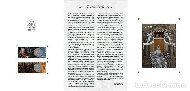 Sellos: Portugal ** & PGSB 300 Años de la Fundación de la Academia Real História 2020 (8021) - Foto 2 - 209820637