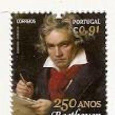Sellos: PORTUGAL ** & 250 AÑOS DEL NACIMIENTO DE BEETHOVEN 2020 (8424). Lote 210230167