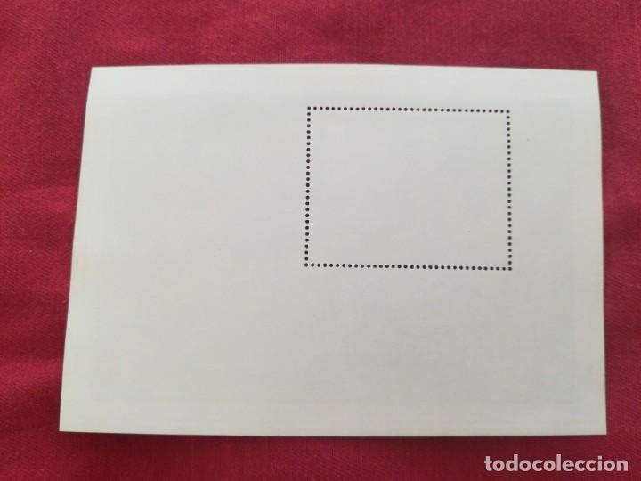 Sellos: Hoja de bloque Arte David Madam con goma - Foto 2 - 212078286
