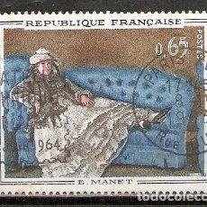 Sellos: FRANCIA.1962. YT 1364. PINTURA. ARTE. Lote 214813172