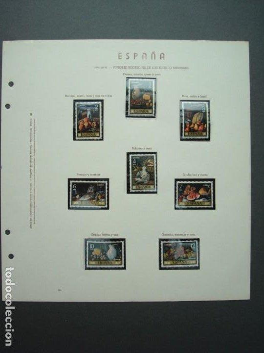 COLECCIÓN LOTE DE SELLOS DE 1976,PINTORES,BODEGONES DE EUGENIO MENENDEZ.. (Sellos - Temáticas - Arte)